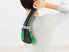 Handheld All-Body Rolling Massager EV2510K: Relax and refresh yourself after a long flight with this handheld massager that has three rollers and a vibration system for an all-body massage. Perfect to pack in your carry-on no matter where you travel!