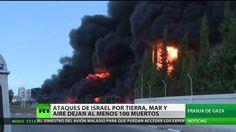 Más de 100 muertos en Gaza desde la medianoche tras la fuerte ofensiva i...