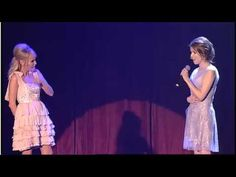 """This is a wonderful version of the famous duet from """"Wicked"""" with one of the original stars, Kristin Chenoweth, and Anna Kendrick, who you might know can sing, but may not know how wonderfully or why.  That's because she got her start at the age of 12 in the Broadway musical """"High Society"""" -- for which she got a Tony nomination. -- RJE"""