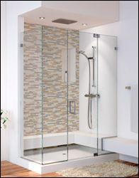 Custom curved glass shower doors httpsourceabl pinterest custom shower doors glasscrafters inc custom shower doors frameless glass shower enclosures planetlyrics Image collections