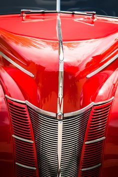 1940 Ford Deluxe Coupe Grille Photograph