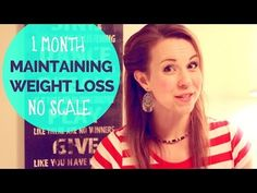 After hCG Diet: Maintaining Weight with No Scale - 1 Month Experiment Results