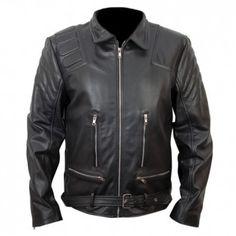Terminator 3 Black Biker Leather Jacket