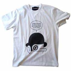 映画「時計じかけのオレンジ」モチーフTシャツ ホワイト 画像