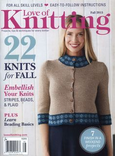Love of Knitting Fall 2015