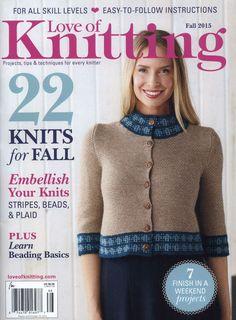 Love of Knitting  Fall 2015 - 轻描淡写 - 轻描淡写