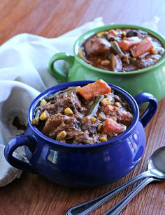This Slow Cooker Farmers Market Beef Stew was a last minute idea. I love standard beef stew but I thought it would be fun to change it up this week. On my mail route I'm lucky to have 4 produce stands along the way.