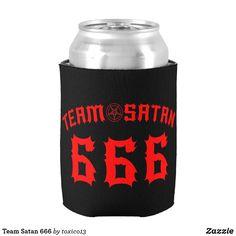 Enfriador De Latas Team Satan 666