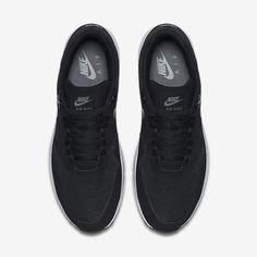 new style e9d42 c8f0d Chaussure Nike Air Max 1 Pas Cher Homme Ultra 2 0 Essential Noir Gris Loup  Gris