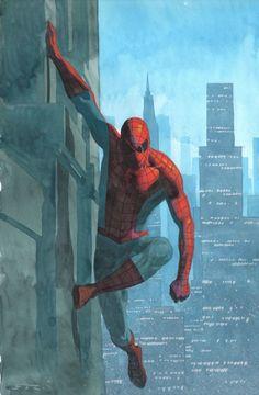 #Spiderman #Fan #Art. (Spider-Man) By: Esad Ribic. (THE * 5 * STÅR * ÅWARD * OF: * AW YEAH, IT'S MAJOR ÅWESOMENESS!!!™)[THANK Ü 4 PINNING!!!<·><]<©>ÅÅÅ+(OB4E) https://s-media-cache-ak0.pinimg.com/564x/7a/41/4a/7a414ae71bb396b6727ef5d445d63d92.jpg