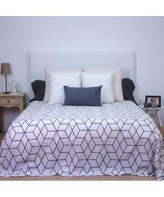 FUNDA NÓRDICA Comforters, Blanket, Bed, Furniture, Home Decor, Textiles, Scandinavian, Decorating Bedrooms, Light Colors
