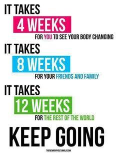 4, 8, 12 keep going!!!