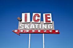 Ontario Ice Skating Center via Flickr (signage & typography)
