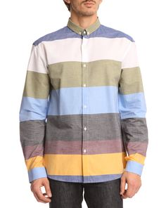 Blocker Multi-coloured Striped Shirt