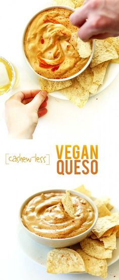 Cashew-Less Vegan Queso