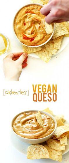 Cashew-Less Vegan Queso