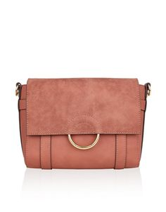SALLY RING SUEDETTE ACROSS BODY BAG  style  fashion  trend  onlineshop   shoptagr · Accessorize PursesRed ... caffe57d43