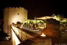 Italian castle. Mariage en Italie dans un château