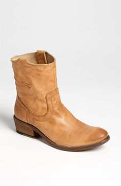Frye 'Carson Tab' Short Boot -- this would be perfect with girly summer dresses!