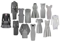 Image result for grey clothes