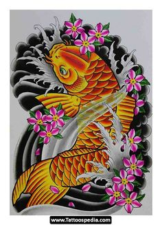 Koi Fish Tattoo Sleeve Designs 45.jpg - http://tattoospedia.com/koi-fish-tattoo-sleeve-designs-45-jpg/