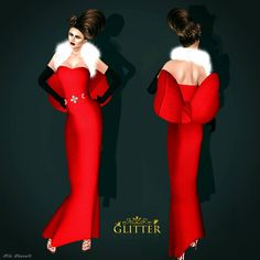 Bow gown