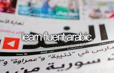 Learn fluent Arabic. Marhaba! So I still need a little work.