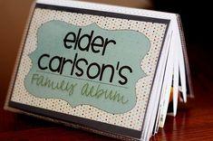 Missionary family album-great idea