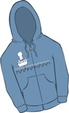 Be sure to stop by our Behemoth gift shop and get one of our new Hatty hoodies! $35.