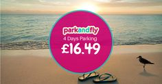 Park and Fly is open until the end of October! Pre-book your airport parking at Park and Fly and get 20% off! Book now: www.biaparkandfly.com Price quoted based on one car for four days.