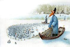 çizgili masallar: How Was Santa Claus Born by Igor Oleynikov