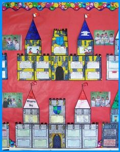 This uniquely shaped castle book report project contains 11 templates that assemble into an extra large medieval castle. Your students will love completing this huge castle project! Book Report Projects, Book Projects, School Projects, Group Projects, Activities For Boys, Enrichment Activities, The Whipping Boy, Castles Topic, The Tale Of Despereaux