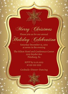 25 off gold christmas party by goosecornergreetings on etsy 1125
