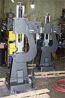 steam hammerThere are now hundreds of our hammers in service In the U.S. and in more than 18 other countries, and they are successfully being used in making a wide variety of products from jackhammer chisels to jet aircraft components, consumer appliances, tractors, locomotives and much more.