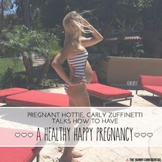 The Skinny Confidential talks to pregnant mom, Carly Feagler/Zuff.