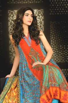 c02413038 Sobia Nazir SILK Dresses Vol 2 Collection 2013