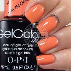 OPI GelColor Hawaii Collection - Is Mai Tai Crooked? - Chickettes.com