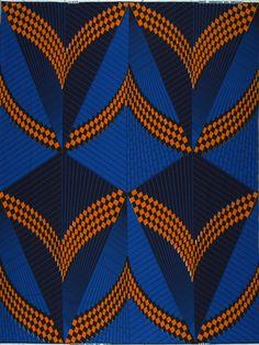 Vlisco Dutch wax block print fabric