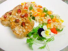 Schab na parze z ryżem pełnoziarnistym jaśminowym Bruschetta, Food And Drink, Cooking, Ethnic Recipes, Blog, Diet, Kitchen, Cuisine