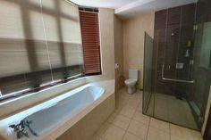 Self Contained Suite Batu Ferringhi HomeStay Master Suite, Master Bedroom, Batu Ferringhi, Digital Nomad, Walk In Shower, Queen Size Bedding, Desk Chair, Corner Bathtub, Living Area