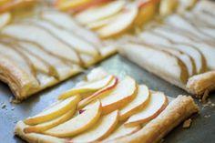 puff pastry pear apple tart