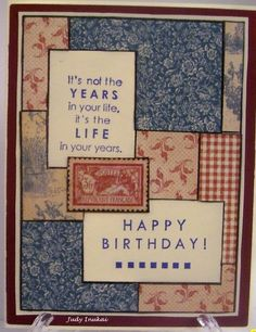 Inspiration Mosaic with DP from Graphic 45 French Country Graphic 45, Mosaic Tiles, I Card, French Country, Happy Birthday, Inspiration, Mosaic Pieces, Happy Brithday, Biblical Inspiration