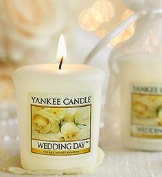 yankee candle votive wedding favors set of 25 or wax or tea lights
