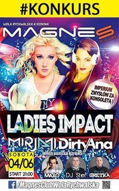 #FemaleDJ #Mirjami w Klubie #magnes Wola Rychwalska