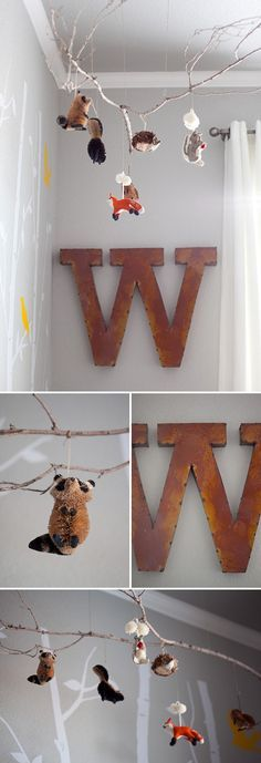 Rustic Woodland Themed Nursery | best stuff