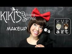 Studio Ghibli Kiki's Delivery Service Cosplay Makeup - YouTube