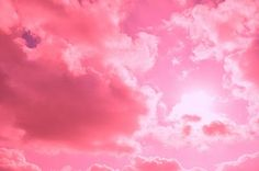 Pink sky....