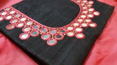 Embroidery for kurti