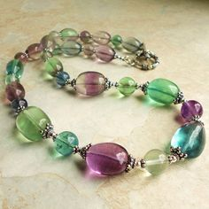 rainbow flourite   this is stunning !
