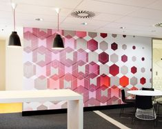 Wall graphics; patterns  3M headquarters by THERE Sydney Australia 12 3M headquarters by THERE, Sydney   Australia
